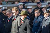 The Gallipoli Association (Group M24, 12 members) during the Royal British Legion March Past on Remembrance Sunday at the Cenotaph, Whitehall, Westminster, London, 11 November 2018, 12:28.