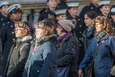 Gallipoli & Dardanelles International (Group M25, 21 members) during the Royal British Legion March Past on Remembrance Sunday at the Cenotaph, Whitehall, Westminster, London, 11 November 2018, 12:28.