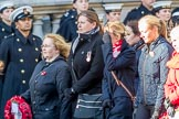 MOD Civilians (Group M26, 17 members) during the Royal British Legion March Past on Remembrance Sunday at the Cenotaph, Whitehall, Westminster, London, 11 November 2018, 12:28.