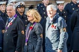 Lions Clubs International (Group M31, 13 members) during the Royal British Legion March Past on Remembrance Sunday at the Cenotaph, Whitehall, Westminster, London, 11 November 2018, 12:28.