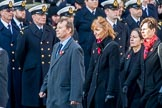The Post Office Fellowship of Remembrance (Group M43, 8 members) during the Royal British Legion March Past on Remembrance Sunday at the Cenotaph, Whitehall, Westminster, London, 11 November 2018, 12:31.