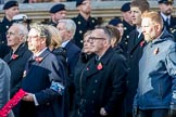 YMCA (Group M49, 30 members) during the Royal British Legion March Past on Remembrance Sunday at the Cenotaph, Whitehall, Westminster, London, 11 November 2018, 12:31.