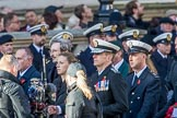 ??? during the Royal British Legion March Past on Remembrance Sunday at the Cenotaph, Whitehall, Westminster, London, 11 November 2018, 12:31.