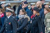 during the Royal British Legion March Past on Remembrance Sunday at the Cenotaph, Whitehall, Westminster, London, 11 November 2018, 12:31.