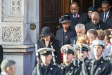 The High Commissioners are leaving the Foreign and Commonwealth Office during the Remembrance Sunday Cenotaph Ceremony 2018 at Horse Guards Parade, Westminster, London, 11 November 2018, 10:55.