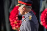 HRH The Prince of Wales (Prince Charles) during the  Remembrance Sunday Cenotaph Ceremony 2018 at Horse Guards Parade, Westminster, London, 11 November 2018, 11:02.