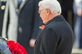 HE The President of the Federal Republic of Germany, Frank-Walter Steinmeier  during the Remembrance Sunday Cenotaph Ceremony 2018 at Horse Guards Parade, Westminster, London, 11 November 2018, 11:04.