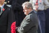 Mr Ian Blackford MP (the Westminster Scottish National Party Leader on the behalf of the SNP/the Plaid Cymru Parliamentary Group)  during the Remembrance Sunday Cenotaph Ceremony 2018 at Horse Guards Parade, Westminster, London, 11 November 2018, 11:08.