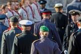The equerries returning to the Foreign and Commonwealth Office during the Remembrance Sunday Cenotaph Ceremony 2018 at Horse Guards Parade, Westminster, London, 11 November 2018, 11:23.