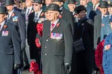 during Remembrance Sunday Cenotaph Ceremony 2018 at Horse Guards Parade, Westminster, London, 11 November 2018, 11:26.