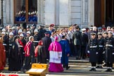 The representatives of the faith communities returning to the Foreign and Commonwealth Office during the Remembrance Sunday Cenotaph Ceremony 2018 at Horse Guards Parade, Westminster, London, 11 November 2018, 11:26.
