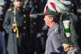 The General Officer Commanding London District, Major General Ben Bathurst CBE returning to the Foreign and Commonwealth Office during the Remembrance Sunday Cenotaph Ceremony 2018 at Horse Guards Parade, Westminster, London, 11 November 2018, 11:26.