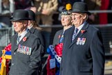 ??? during Remembrance Sunday Cenotaph Ceremony 2018 at Horse Guards Parade, Westminster, London, 11 November 2018, 11:28.