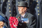 ??? as representatives of the Royal Naval Association  during the Remembrance Sunday Cenotaph Ceremony 2018 at Horse Guards Parade, Westminster, London, 11 November 2018, 11:28.