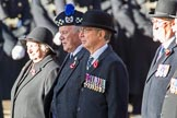during Remembrance Sunday Cenotaph Ceremony 2018 at Horse Guards Parade, Westminster, London, 11 November 2018, 11:28.