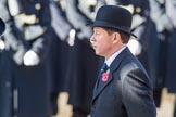 during Remembrance Sunday Cenotaph Ceremony 2018 at Horse Guards Parade, Westminster, London, 11 November 2018, 11:29.