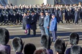 during Remembrance Sunday Cenotaph Ceremony 2018 at Horse Guards Parade, Westminster, London, 11 November 2018, 11:30.