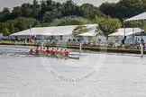 Henley Royal Regatta 2012 (Thursday): Race 7, Temple Challenge Cup:  University of Groningen, Holland  (110, Bucks) v St Petersburg University, Russia (101, Berks). River Thames beteen Henley-on-Thames and Remenham/Temple Island , Henley-on-Thames, Oxfordshire, United Kingdom, on 28 June 2012 at 09:40, image #31