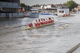 Henley Royal Regatta 2012 (Thursday): Race 7, Temple Challenge Cup:  University of Groningen, Holland  (110, Bucks) v St Petersburg University, Russia (101, Berks). River Thames beteen Henley-on-Thames and Remenham/Temple Island , Henley-on-Thames, Oxfordshire, United Kingdom, on 28 June 2012 at 09:41, image #35