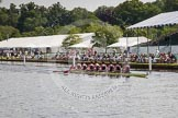 Henley Royal Regatta 2012 (Thursday): Race 12, Princess Elizabeth Challenge Cup:  Latymer Upper School  (140, Bucks) v Abingdon School  (122, Berks). River Thames beteen Henley-on-Thames and Remenham/Temple Island , Henley-on-Thames, Oxfordshire, United Kingdom, on 28 June 2012 at 10:10, image #68
