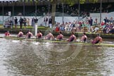 Henley Royal Regatta 2012 (Thursday): Race 12, Princess Elizabeth Challenge Cup:  Latymer Upper School  (140, Bucks) v Abingdon School  (122, Berks). River Thames beteen Henley-on-Thames and Remenham/Temple Island , Henley-on-Thames, Oxfordshire, United Kingdom, on 28 June 2012 at 10:10, image #69