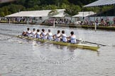 Henley Royal Regatta 2012 (Thursday): Race 12, Princess Elizabeth Challenge Cup:  Latymer Upper School  (140, Bucks) v Abingdon School  (122, Berks). River Thames beteen Henley-on-Thames and Remenham/Temple Island , Henley-on-Thames, Oxfordshire, United Kingdom, on 28 June 2012 at 10:10, image #71