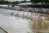 Henley Royal Regatta 2012 (Thursday): Race 12, Princess Elizabeth Challenge Cup:  Latymer Upper School  (140, Bucks) v Abingdon School  (122, Berks). River Thames beteen Henley-on-Thames and Remenham/Temple Island , Henley-on-Thames, Oxfordshire, United Kingdom, on 28 June 2012 at 10:10, image #72
