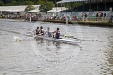 Henley Royal Regatta 2012 (Thursday): Race 13, Wyfold Elizabeth Challenge Cup:  London Rowing Club 'A'  (223, Bucks) v The Tideway Scullers's School  (246, Berks). River Thames beteen Henley-on-Thames and Remenham/Temple Island , Henley-on-Thames, Oxfordshire, United Kingdom, on 28 June 2012 at 10:15, image #78