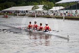 Henley Royal Regatta 2012 (Thursday): Race 14, Fawley Challenge Cup:  Sir William Borlase's Grammar School (315, Bucks) v Marlow Eowing Club 'B'  (307, Berks). River Thames beteen Henley-on-Thames and Remenham/Temple Island , Henley-on-Thames, Oxfordshire, United Kingdom, on 28 June 2012 at 10:21, image #84