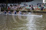 Henley Royal Regatta 2012 (Thursday): Race 19, Britannia Challenge Cup:  Henley Rowing Club (347, Bucks) v London Rowing Club  (349, Berks). River Thames beteen Henley-on-Thames and Remenham/Temple Island , Henley-on-Thames, Oxfordshire, United Kingdom, on 28 June 2012 at 10:50, image #129