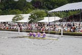 Henley Royal Regatta 2012 (Thursday): Race 23, Visitors' Challenge Cup:  Oxford University and Isis Boat Club (205, Bucks) v Durham University  (196, Berks). River Thames beteen Henley-on-Thames and Remenham/Temple Island , Henley-on-Thames, Oxfordshire, United Kingdom, on 28 June 2012 at 11:16, image #158