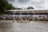 Henley Royal Regatta 2012 (Thursday): Race 23, Visitors' Challenge Cup:  Oxford University and Isis Boat Club (205, Bucks) v Durham University  (196, Berks). River Thames beteen Henley-on-Thames and Remenham/Temple Island , Henley-on-Thames, Oxfordshire, United Kingdom, on 28 June 2012 at 11:16, image #159