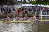 Henley Royal Regatta 2012 (Thursday): Race 23, Visitors' Challenge Cup:  Oxford University and Isis Boat Club (205, Bucks) v Durham University  (196, Berks). River Thames beteen Henley-on-Thames and Remenham/Temple Island , Henley-on-Thames, Oxfordshire, United Kingdom, on 28 June 2012 at 11:16, image #160