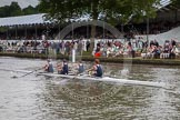 Henley Royal Regatta 2012 (Thursday): Race 23, Visitors' Challenge Cup:  Oxford University and Isis Boat Club (205, Bucks) v Durham University  (196, Berks). River Thames beteen Henley-on-Thames and Remenham/Temple Island , Henley-on-Thames, Oxfordshire, United Kingdom, on 28 June 2012 at 11:16, image #162