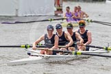 Henley Royal Regatta 2012 (Thursday): Race 23, Visitors' Challenge Cup:  Oxford University and Isis Boat Club (205, Bucks) v Durham University  (196, Berks). River Thames beteen Henley-on-Thames and Remenham/Temple Island , Henley-on-Thames, Oxfordshire, United Kingdom, on 28 June 2012 at 11:17, image #165
