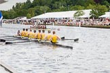 Henley Royal Regatta 2012 (Thursday): Race 32, Princess Elizabeth Challenge Cup:  Hampton School (137, Bucks) v Groton School, U.S.A.  (136, Berks). River Thames beteen Henley-on-Thames and Remenham/Temple Island , Henley-on-Thames, Oxfordshire, United Kingdom, on 28 June 2012 at 12:10, image #226