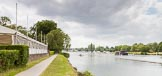 Henley Royal Regatta 2013 (Monday): Preparations for the regatta - tents on the eastern side of the Thames.. River Thames between Henley and Temple Island, Henley-on-Thames, Berkshire, United Kingdom, on 01 July 2013 at 14:39, image #15