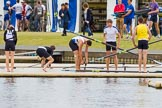 Henley Royal Regatta 2013, Thursday. River Thames between Henley and Temple Island, Henley-on-Thames, Berkshire, United Kingdom, on 04 July 2013 at 09:02, image #11