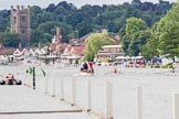 Henley Royal Regatta 2013, Thursday. River Thames between Henley and Temple Island, Henley-on-Thames, Berkshire, United Kingdom, on 04 July 2013 at 10:55, image #109