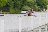 Henley Royal Regatta 2013, Thursday. River Thames between Henley and Temple Island, Henley-on-Thames, Berkshire, United Kingdom, on 04 July 2013 at 11:00, image #114