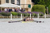 Henley Royal Regatta 2013, Thursday. River Thames between Henley and Temple Island, Henley-on-Thames, Berkshire, United Kingdom, on 04 July 2013 at 11:00, image #115