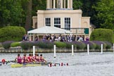 Henley Royal Regatta 2013, Thursday. River Thames between Henley and Temple Island, Henley-on-Thames, Berkshire, United Kingdom, on 04 July 2013 at 11:07, image #133