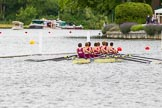 Henley Royal Regatta 2013, Thursday. River Thames between Henley and Temple Island, Henley-on-Thames, Berkshire, United Kingdom, on 04 July 2013 at 11:07, image #134
