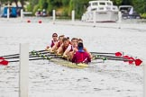 Henley Royal Regatta 2013, Thursday. River Thames between Henley and Temple Island, Henley-on-Thames, Berkshire, United Kingdom, on 04 July 2013 at 11:07, image #146