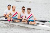 Henley Royal Regatta 2013, Thursday. River Thames between Henley and Temple Island, Henley-on-Thames, Berkshire, United Kingdom, on 04 July 2013 at 11:17, image #173