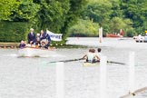 Henley Royal Regatta 2013, Thursday. River Thames between Henley and Temple Island, Henley-on-Thames, Berkshire, United Kingdom, on 04 July 2013 at 11:24, image #182