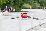 Henley Royal Regatta 2013, Thursday. River Thames between Henley and Temple Island, Henley-on-Thames, Berkshire, United Kingdom, on 04 July 2013 at 11:30, image #200