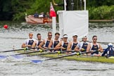 Henley Royal Regatta 2013, Thursday. River Thames between Henley and Temple Island, Henley-on-Thames, Berkshire, United Kingdom, on 04 July 2013 at 11:31, image #211