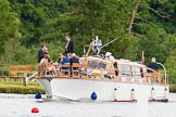Henley Royal Regatta 2013, Thursday. River Thames between Henley and Temple Island, Henley-on-Thames, Berkshire, United Kingdom, on 04 July 2013 at 11:34, image #214