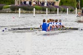 Henley Royal Regatta 2013, Thursday. River Thames between Henley and Temple Island, Henley-on-Thames, Berkshire, United Kingdom, on 04 July 2013 at 11:36, image #221